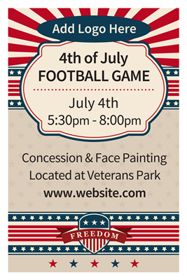 DIY 4th of July Event Posters