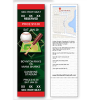 Baseball Tickets - Reserved Seating Admission