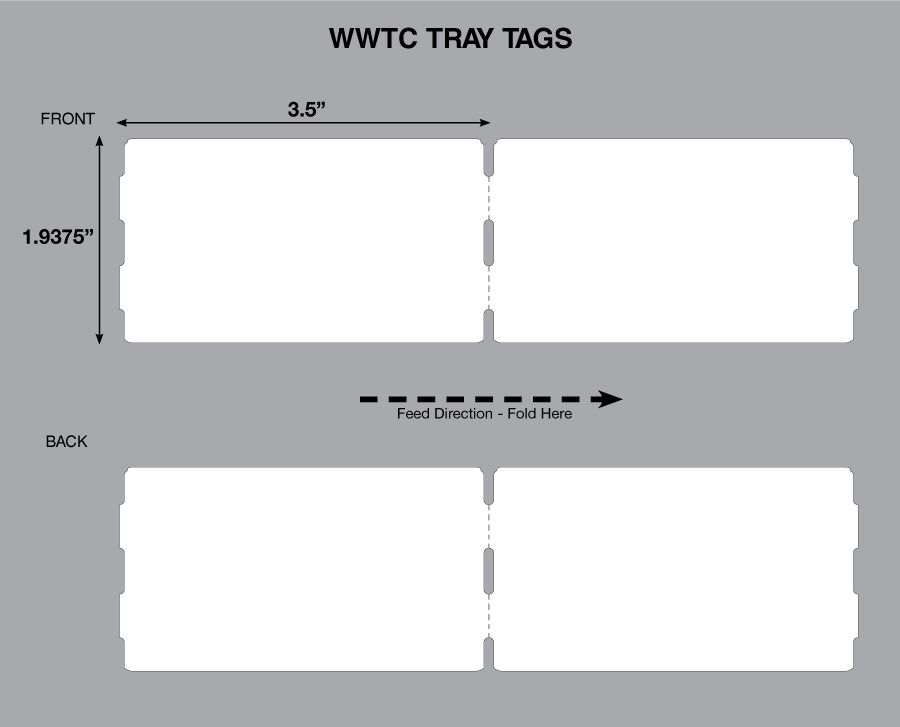 tray tag stock