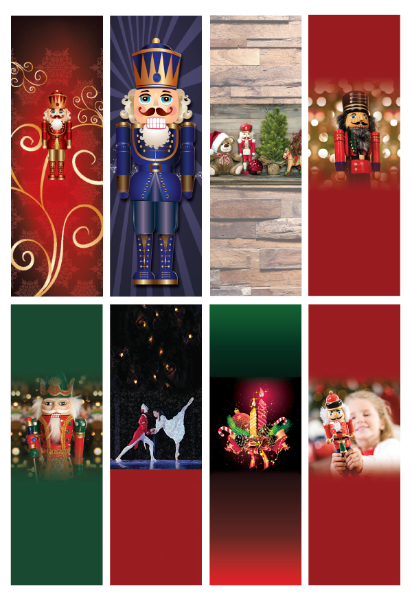 Order custom printed Nutcracker Ballet Tickets